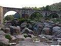 271 Pont Vell sobre el Llobregat (el Pont de Vilomara).JPG