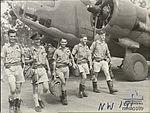 2 Squadron RAAF Hudson aircrew Hughes NT Mar 1943 AWM NWA0189.jpg