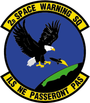 2d Space Warning Squadron - 2d Space Warning Squadron Patch