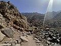 3الطريق الجبلي المؤدي الى جبل طوبقالو الى مقام شمهروش ملك الجن.jpg