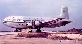 374th Airlift Wing - Image: 374th TCW Douglas C 124A DL Globemaster II 51 143