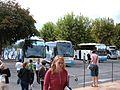 3 Contiki buses in Èze.JPG