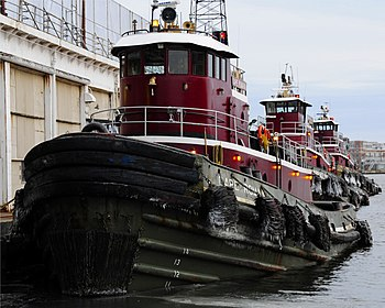 3 Tugboats in Baltimore Harbor.