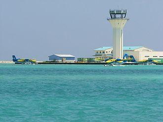 Velana International Airport - The seaplane terminal