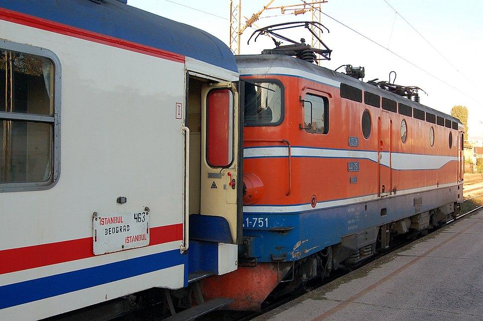 441-751 + Balkan Express Niš, 2007 (02)