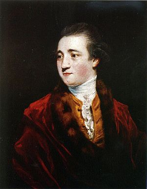 Charles Manners, 4th Duke of Rutland - Rutland, oil on canvas by Joshua Reynolds, c. 1775