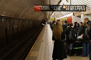 Fifth Avenue/53rd Street (IND Queens Boulevard Line) - Image: 5 Av 53 St upper
