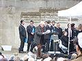 70. Jahrestag der Befreiung des KZ Bergen-Belsen, 26. April 2015 Maurice Zylberstein.JPG
