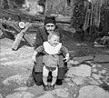 80- letna Ana Jursimovič, Podbeže 19, p. Podgrad 1955.jpg