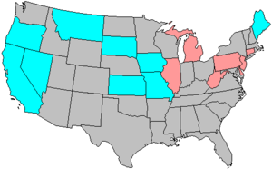 United States House of Representatives elections, 1956 - Image: 85 us house changes