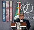 90 Aniversario del Banco de México. Puesta en circulación de la Moneda Conmemorativa de 20 pesos alusiva al Centenario de la fuerza Aérea Mexicana. (21987556220).jpg