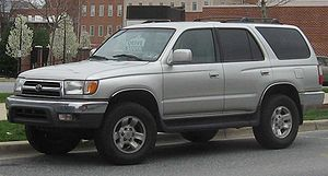 1999 Toyota 4Runner photographed in College Pa...
