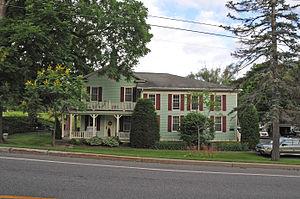 Adams-Ryan House - Image: ADAMS RYAN HOUSE, MONROE COUNTY, NY