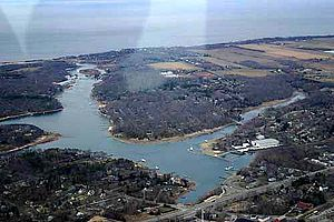 Mattituck, New York - Mattituck Inlet