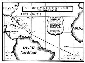 Eastern Range - Eastern Test Range, circa 1957