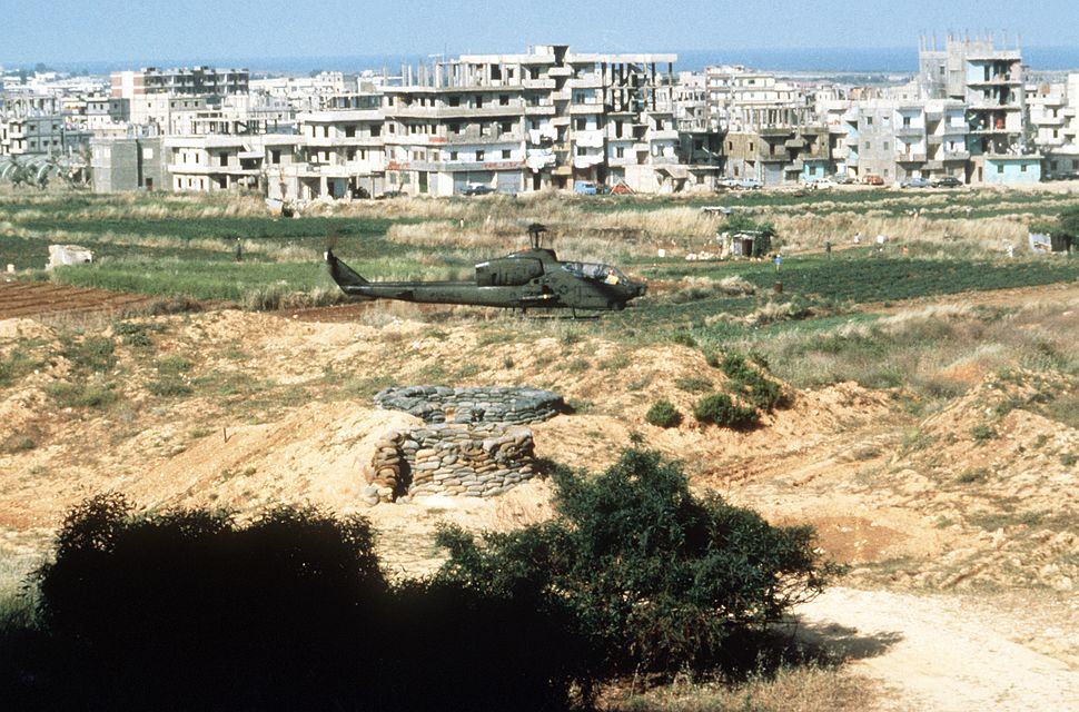 AH-1T SeaCobra in the outskirts of Beirut 1983.JPEG