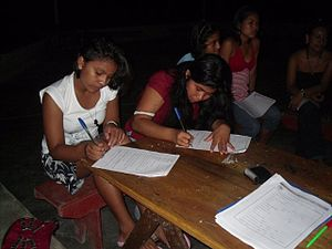 Demographics of Peru - Peruvian girls