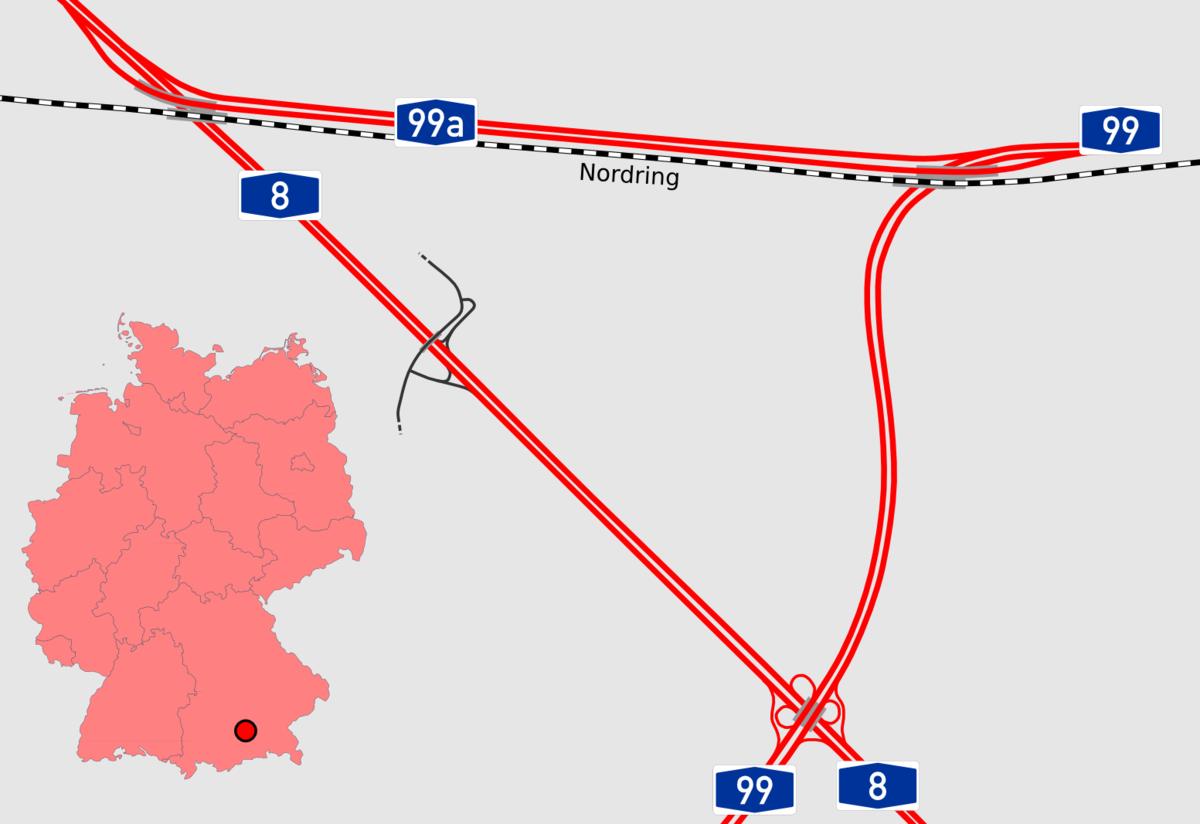 Autobahnkreuz M Nchen West Wikipedia