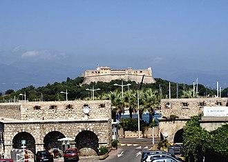 Fort Carré - Image: ANTIBOL 2