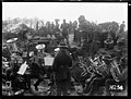 A brass band playing at the New Zealand Rifle Brigade's camp near Ypres, World War I (21453260808).jpg