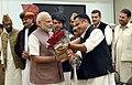 A delegation of All Jammu and Kashmir Panchayat Conference calls on the Prime Minister, Shri Narendra Modi, in New Delhi on November 05, 2016.jpg