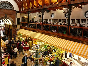 English Market - Café on mezzanine floor