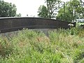 A railway footbridge over a now infilled cutting - geograph.org.uk - 908424.jpg