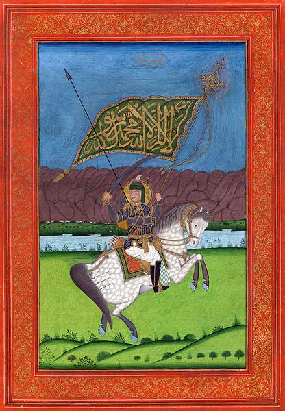 تصویر حضرت ابوالفضل العباس