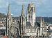Abbaye Saint-Ouen de Rouen as seen from Gros Horloge 140215 3.jpg