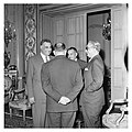 Abdel Nasser holds a dinner for Ali Yavar Jung, the Indian Ambassador, in Cairo (03).jpg