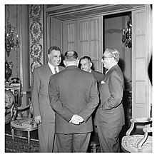 Abdel Nasser holds a dinner for Ali Yavar Jung, the Indian Ambassador, in Cairo (03).jpg