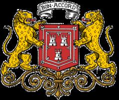 Das Wappen Aberdeens