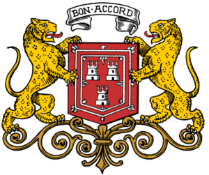Coat of arms of Aberdeen - The arms of Aberdeen