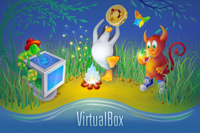 Capture d'écran de VirtualBox