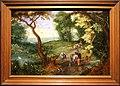 Abraham govaerts, paesaggio con cavalieri e bestiame, 1620 ca. 01.jpg