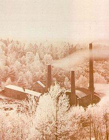 Impianto di purificazione e concentrazione per acido acetico nel 1884