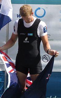 Adam Ling New Zealand rower
