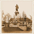 Adam Mickiewicz Monument in Warsaw - 01.jpg