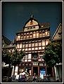 Adenau – Das Historisches Fachwerkhaus am Markt 1 wurde 1630 erbaut - panoramio.jpg