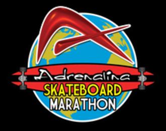 Adrenalina Skateboard Marathon - Adrenalina Skateboard Marathon logo.