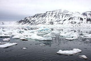 mountain in Svalbard
