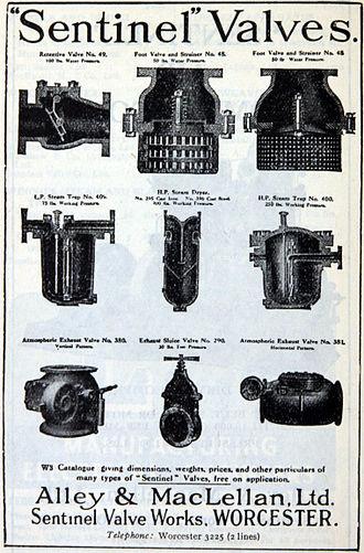Alley & MacLellan Ltd - Image: Advert Alley & Mac Lellan p 2 1943