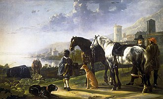 Aelbert Cuyp - The Negro Page circa 1652, Royal Collection