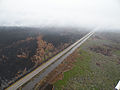 Aerial View of Smoke Hovering Over Highway 264 (5754645331).jpg
