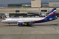 VQ-BKT - A320 - Aeroflot