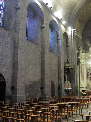Agde Cathedral - Image: Agde St Etienne Interior