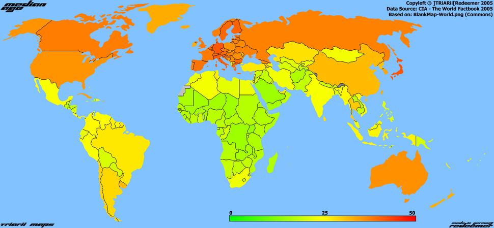 AgeMap-World