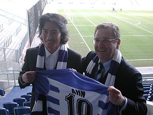 Ahn Jung-hwan - Ahn with MSV Duisburg in 2006