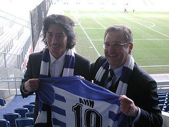 Ahn Jung-hwan - Ahn with MSV Duisburg in 2006