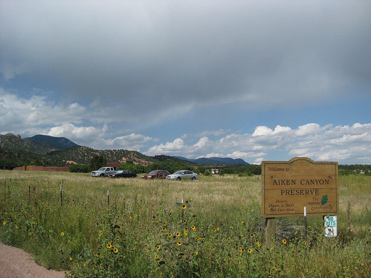 Aiken Canyon Preserve Wikipedia